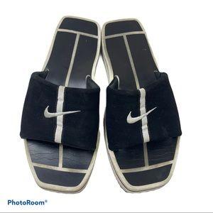vintage 90's Nike square toe slides sz 8